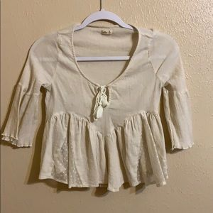 Hollister Flowy Blouse